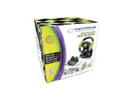 Esperanza Xbox360 vairas su pedalais