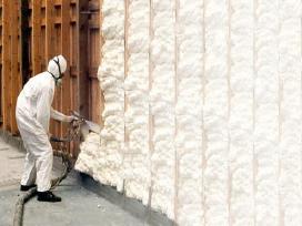 Šiltinimas poliuretanu. Putėjas ir pagalbinis