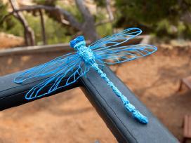 Plastikinis 3D tušinukas ore su garantija
