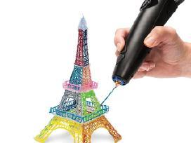 Plastikinis 3D tušinukas gebantis piešti ore - nuotraukos Nr. 2