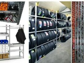 Pigūs stelažai garažui, sandėliui ir pan. - nuotraukos Nr. 3