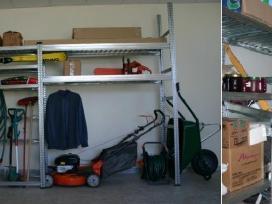 Pigūs stelažai garažui, sandėliui ir pan.