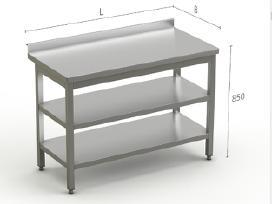Nerūdijančio Plieno Stalai pagal poreikius - nuotraukos Nr. 3