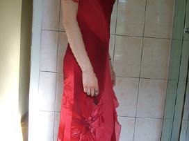 Šventinė raudona suknelė