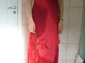 Šventinė raudona suknelė - nuotraukos Nr. 2