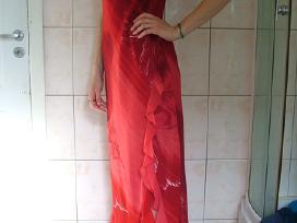 Šventinė raudona suknelė - nuotraukos Nr. 3
