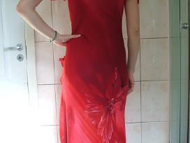 Šventinė raudona suknelė - nuotraukos Nr. 4