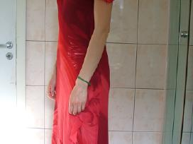 Šventinė raudona suknelė - nuotraukos Nr. 5