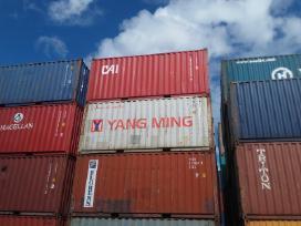 Jūriniai konteineriai. - nuotraukos Nr. 9