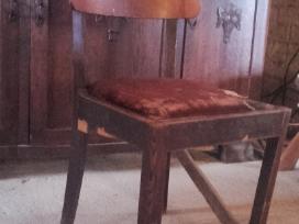 Azuolinio stalo kojos,kresliukai,kedes - nuotraukos Nr. 4