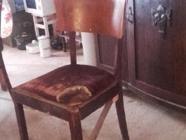 Azuolinio stalo kojos,kresliukai,kedes - nuotraukos Nr. 5