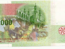 Komorai 2000 francs 2005