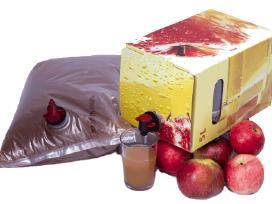 Ekologiskos obuoliu sultys tetrapakuose