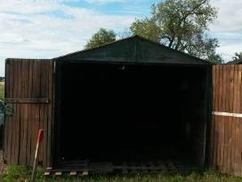 Garazas 2.85 x 5.60 m., su apdaila, Apšiltintas