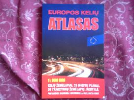 Pasaulio geografijos, Europos kelių atlasai-10€
