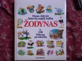 Anglų k. žodynas vaikams - 15€