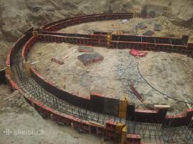 Plataus profilio statybininkai iesko darbo