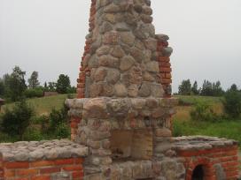 Viliaus lauko židiniai, akmens mūro darbai