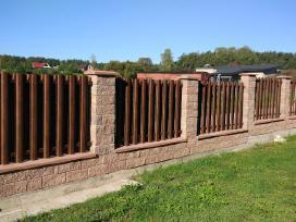 Skardinės tvoros. Skardinė tvora