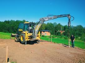 Ekskavatoriaus racioko,buldozerio nuoma Trakai