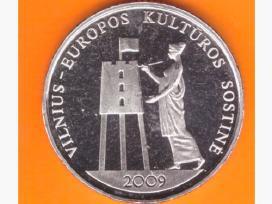 Lietuva 1 litas 2009 Vilnius kulturos sostine