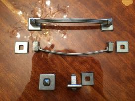 Baldų rankenėlės (4 vnt.) iš metalo