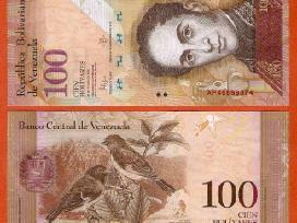 Venesuela 100 Bolivares 2015m. P93 Unc
