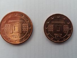 Malta 2015 euro 2c ir 5c