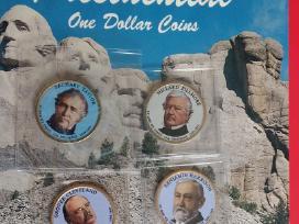 Jav / Usa prezitentiniai doleriai
