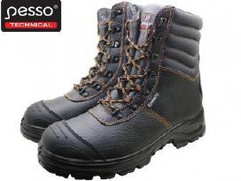 Odiniai darbo batai Pesso Bs659 S3 Kevlar