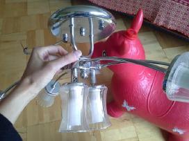 Kaip naujas modernus šviestuvas 6 lempų