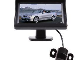 Galinio vaizdo parkavimosi kamera ir LCD monitoriu