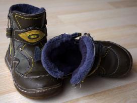 Odiniai batai su natūraliu kailiu 27 d.