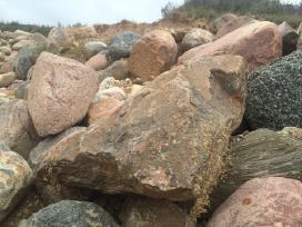 Akmenys pigiai skalda lauko akmenys dekoratyviniai