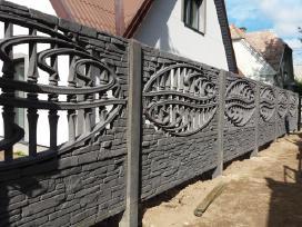 grafito spalvos betono tvora - nuotraukos Nr. 14