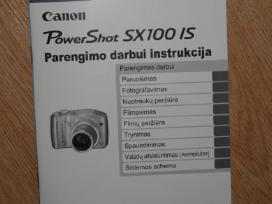 Fotoaparatas Canon Powershot Sx100 Is