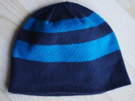 Mėlyna dryžuota kepurė