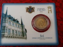 Liuksemburgas 2 euro 2014 kortelėje Bu