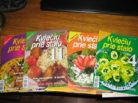 Tarybiniai žurnalai ir Kviečiu prie stalo žurnalai