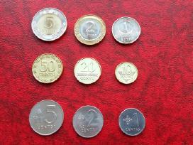 Lietuva rinkinukas nuo 1 cento iki 5 litų