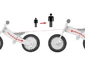 Balansinis dviratis - Keičiamu korpusu 69 eur