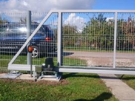 Kiemo vartai, tvoros, automatikos