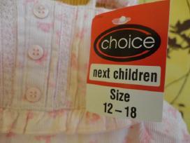 Rožinis komplektukas mergaitei, 12-18 mėn, 7 eur