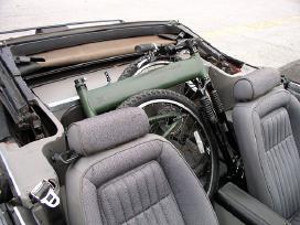 """Montague paratrooper"" sudedamas taktinis dviratis"