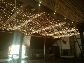 Led lempučių girliandų nuoma - nuotraukos Nr. 3