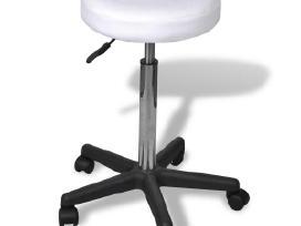 Balta Biuro Kėdė, vidaxl