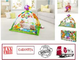 Akcija Fisher Price Rainforest Deluxe su garantija