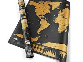 Keliautojo žemėlapis Nutrinamas žemėlapis