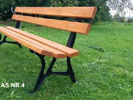 Lauko baldai, stalas, suoliukai. - nuotraukos Nr. 7