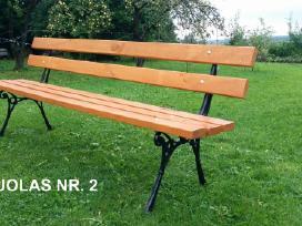 Lauko baldai, stalas, suoliukai. - nuotraukos Nr. 5